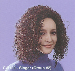 ITEM # BCW129 Women Costume Wig, Singer