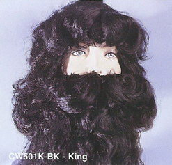 BCW501K Men Costume Wig, King