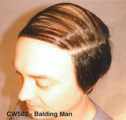 BCW502 Men Costume Wig, Balding Man