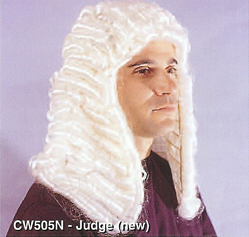 BCW505N Men Costume Wig, Judge