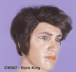 BCW507 Men Costume Wig, Rock King