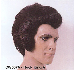 BCW507A Men Costume Wig, Rock King A