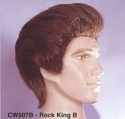 BCW507B Men Costume Wig, Rock King B