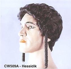 BCW509A Men Costume Wig, Hessidik