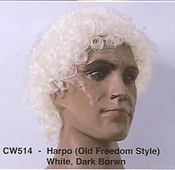 BCW514 Men Costume Wig, Harpo