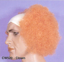 BCW520 Men Costume Wig, Clown