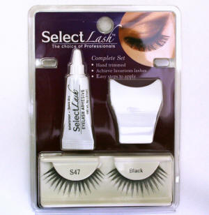 false eyelashes starter kit