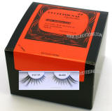 Human hair bulk eyelashes, 2 dozen pack