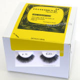 Fake Eyelashes, 2 Dozen Pack, packed in bulk, Made in Indonesia,