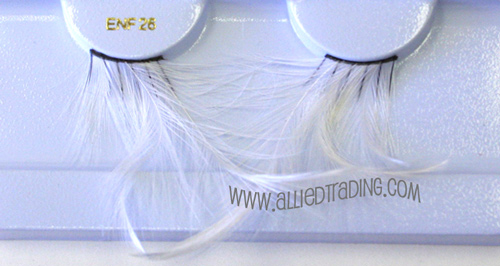 BENF26WH FEATHER LASHES