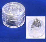 BEXF12 individual flare eyelash, 12mm. from alliedtrading.com