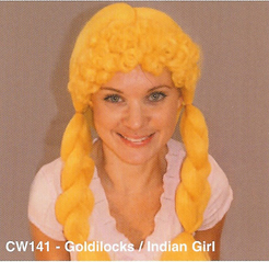 BCW141 GOLDILOCKS INDIAN GIRL