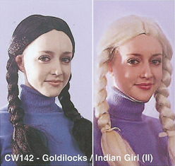 BCW142 GOLDILOCKS INDIAN GIRL (II)