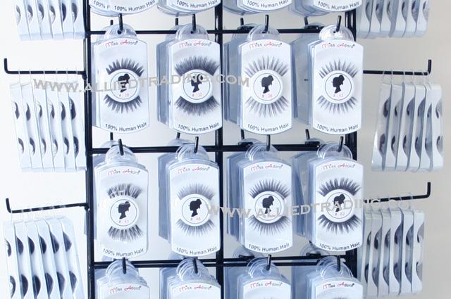 false eyelash table top display eyelash business starter kit