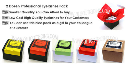 24 pack false eyelashes