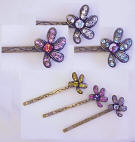 BB140 Swarovski Crystal Hair Bobby Pin