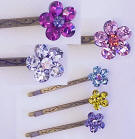 BB142 Swarovski Crystal Hair Bobby Pin