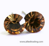 item # ar204 swarovski stud earrings, 5mm