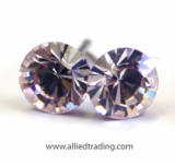 swarovski crystal tiny stud earrings, 5mm