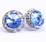 ARC22 Swarovski Clip On Earrings, 15mm, wholesale distributor, allied trading