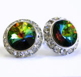 ARC68 Swarovski Clip-On Earrings, 20mm, wholesale distributor, allied trading