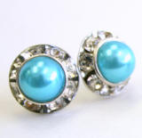 wholesale pearl stud earrings