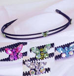 item # srb52 swarovski butterfly inspired headband