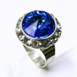 Swarovski Crystal Ring. costume jewelry wholesaler Allied Trading