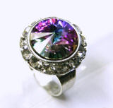 RN411 Swarovski Crystal Ring